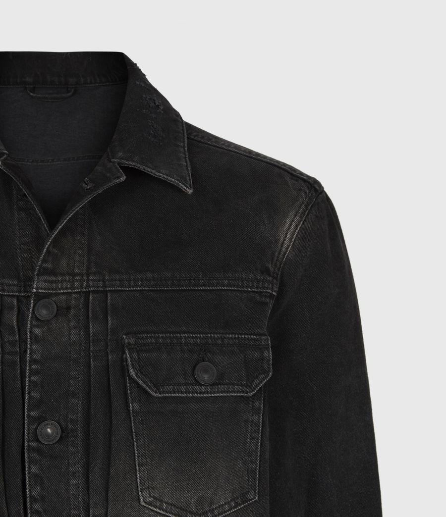 Mens Bocana Denim Jacket (black) - Image 5