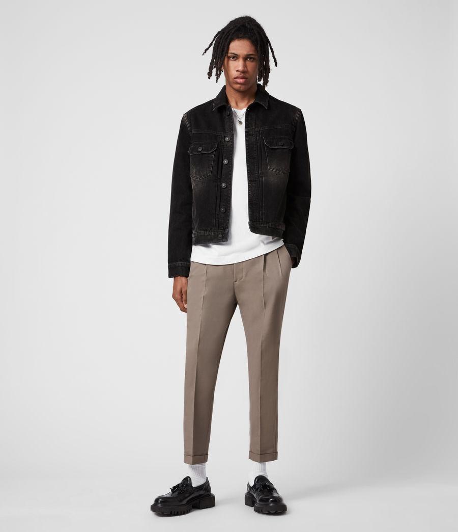 Mens Bocana Denim Jacket (black) - Image 7