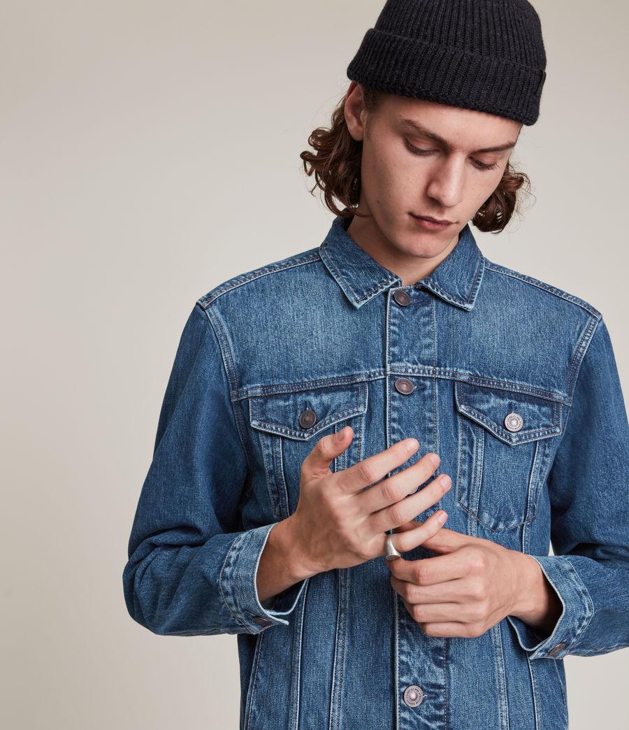Men's Kirkby Denim Jacket (dark_indigo) - Image 1