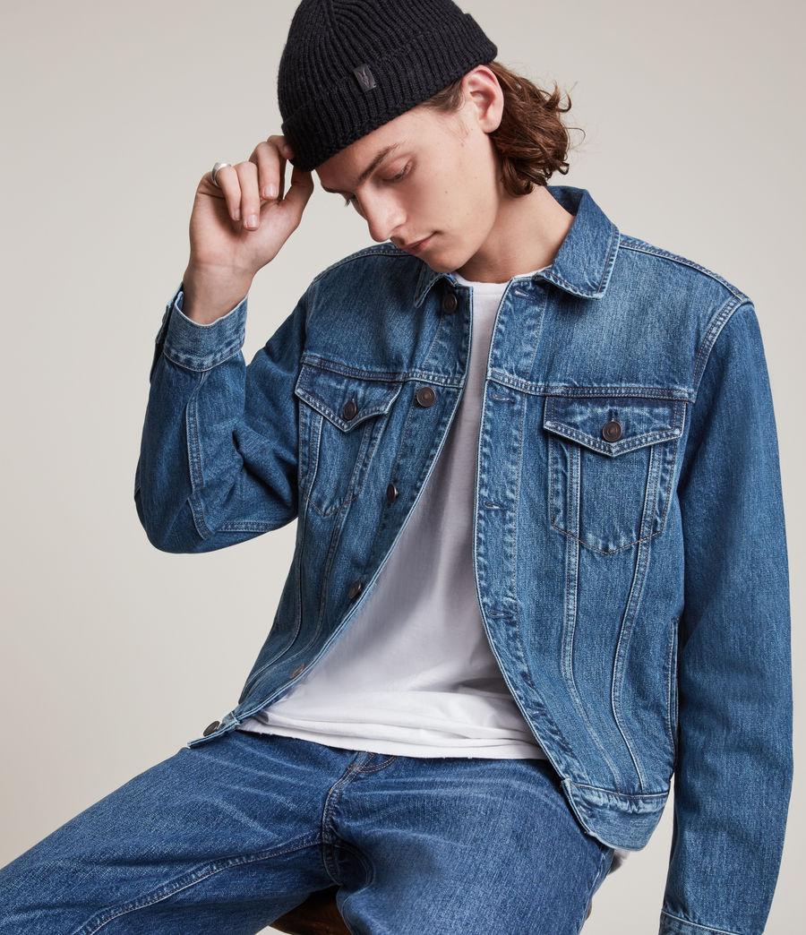 Men's Kirkby Denim Jacket (dark_indigo) - Image 2