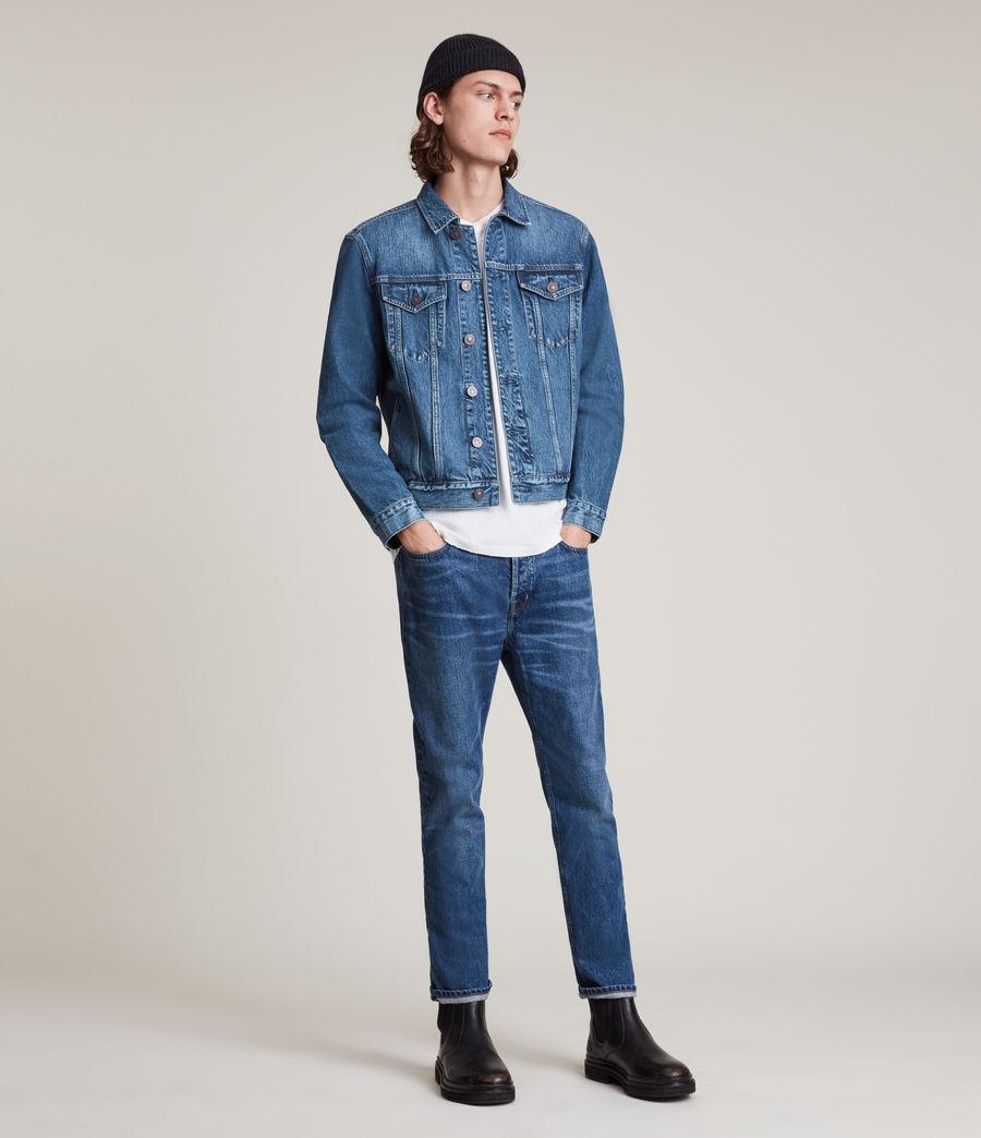 Men's Kirkby Denim Jacket (dark_indigo) - Image 3