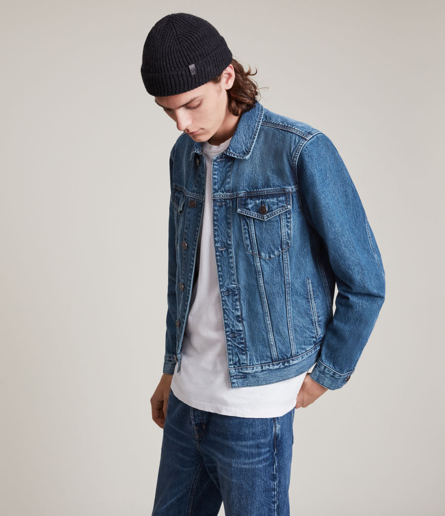 Men's Kirkby Denim Jacket (dark_indigo) - Image 5