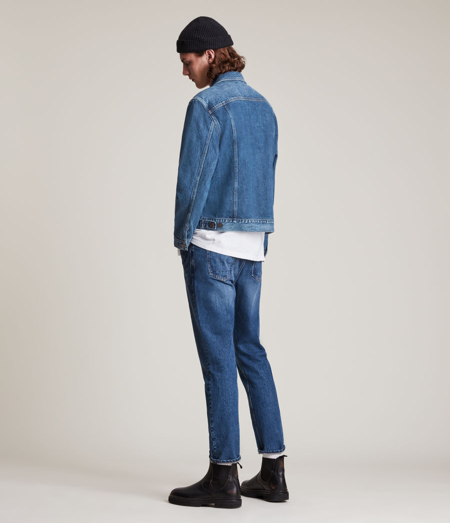 Men's Kirkby Denim Jacket (dark_indigo) - Image 6