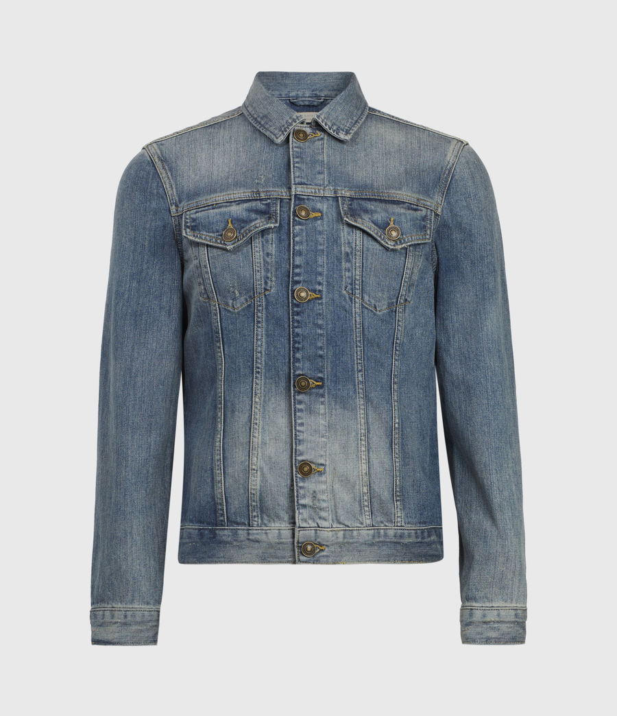 Mens Inverness Denim Jacket (indigo) - Image 2