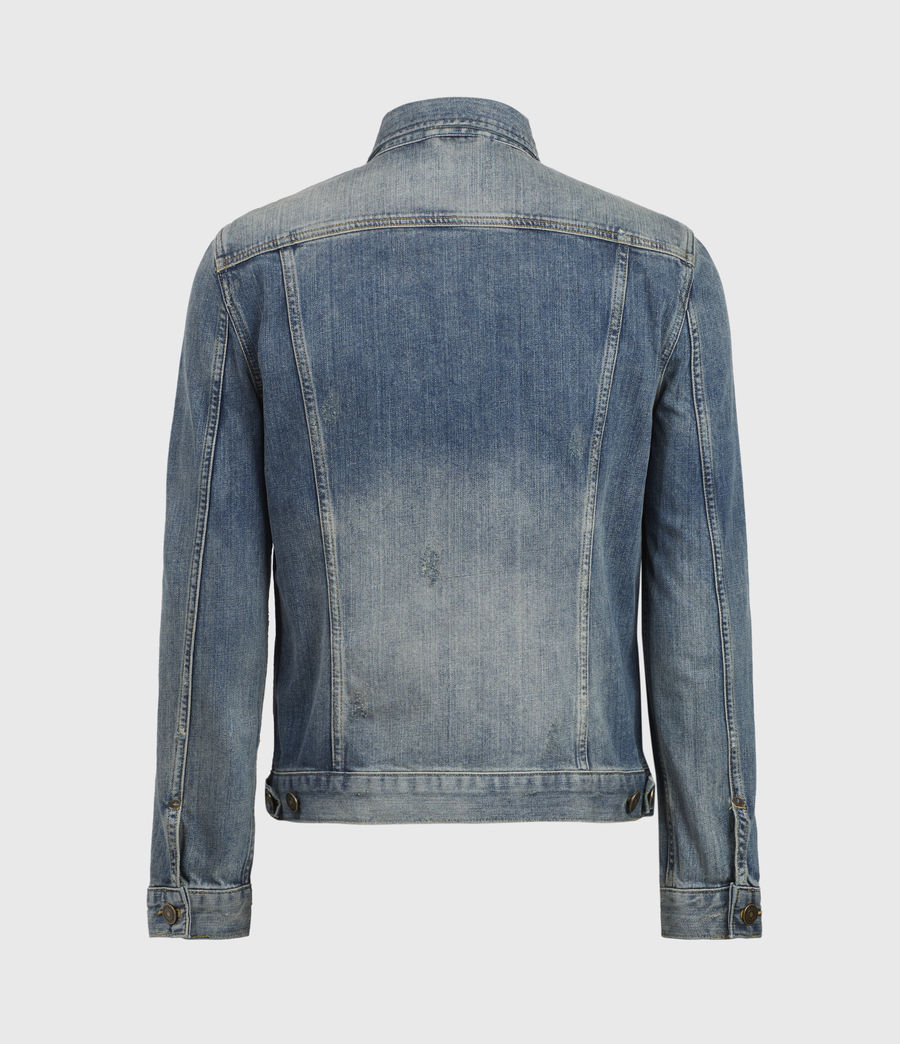 Mens Inverness Denim Jacket (indigo) - Image 3