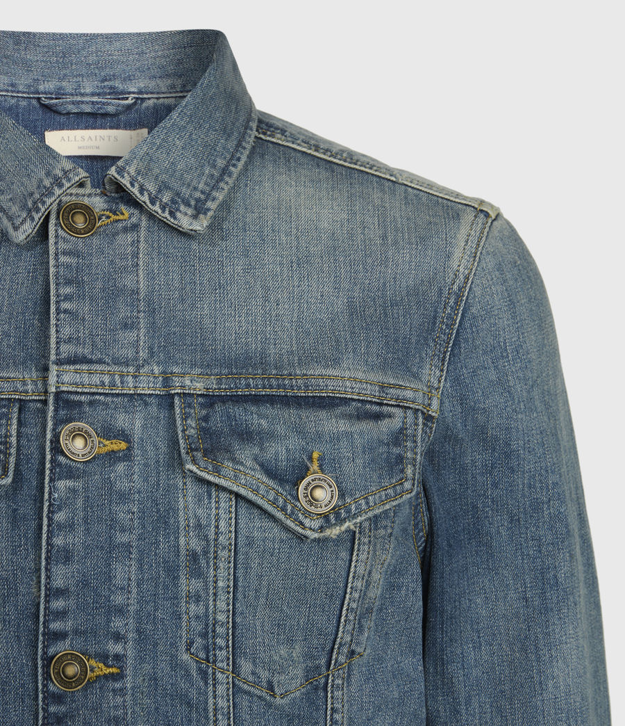 Men's Inverness Denim Jacket (indigo) - Image 5