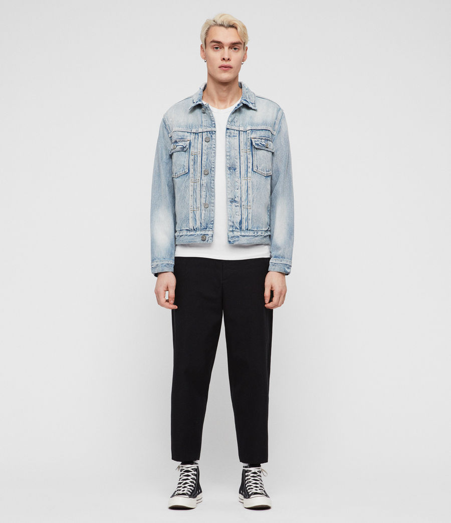 Men's Imoku Denim Jacket (light_indigo_blue) - Image 1