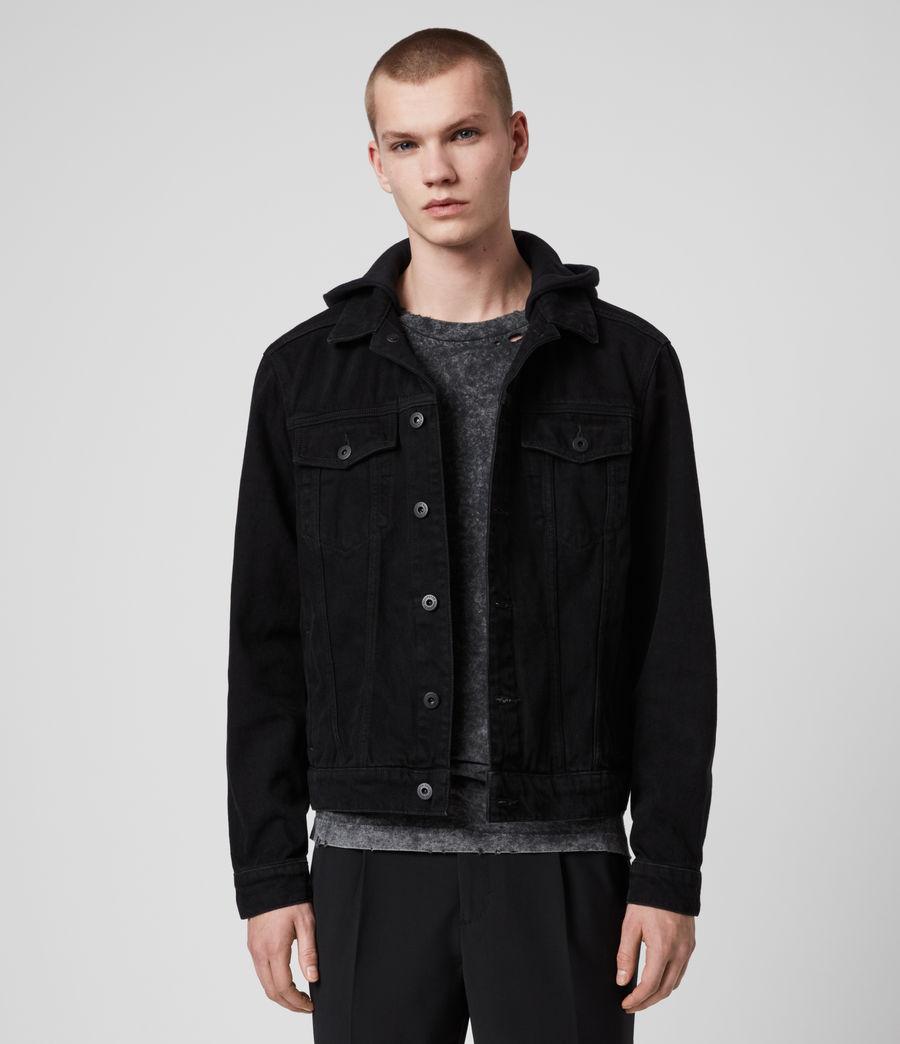 Men's Burnby Denim Jacket (black) - Image 1