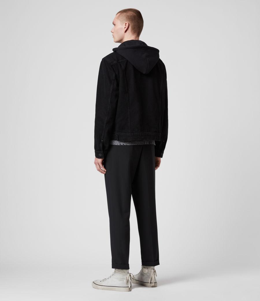 Men's Burnby Denim Jacket (black) - Image 5