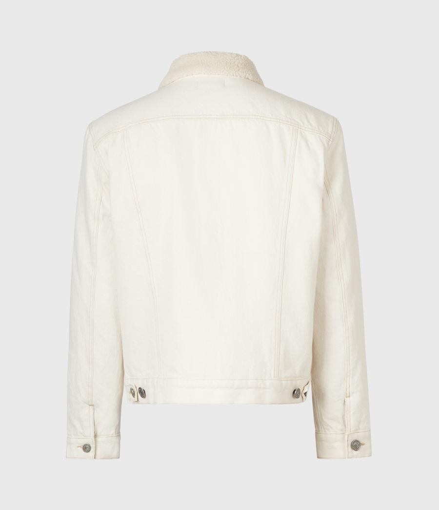 Mens Elgin Denim Jacket (ecru) - Image 3