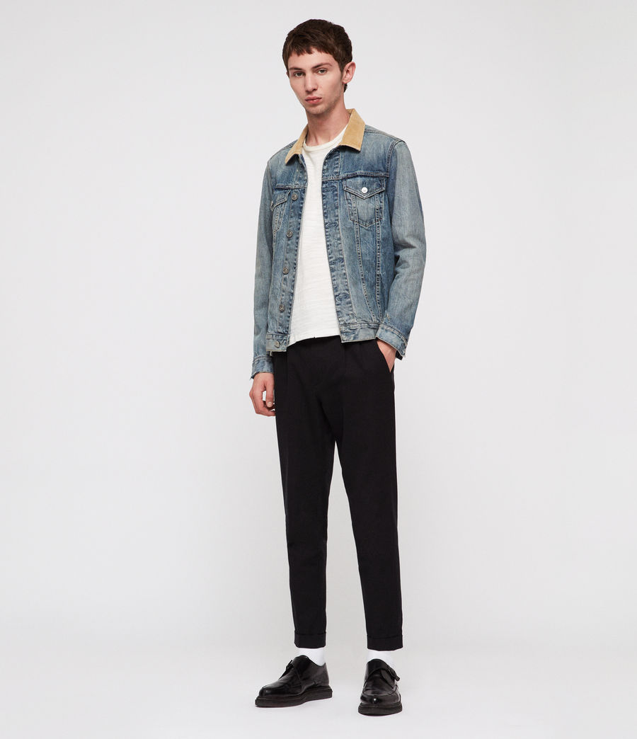 Men's Dexter Denim Jacket (indigo_blue) - Image 1