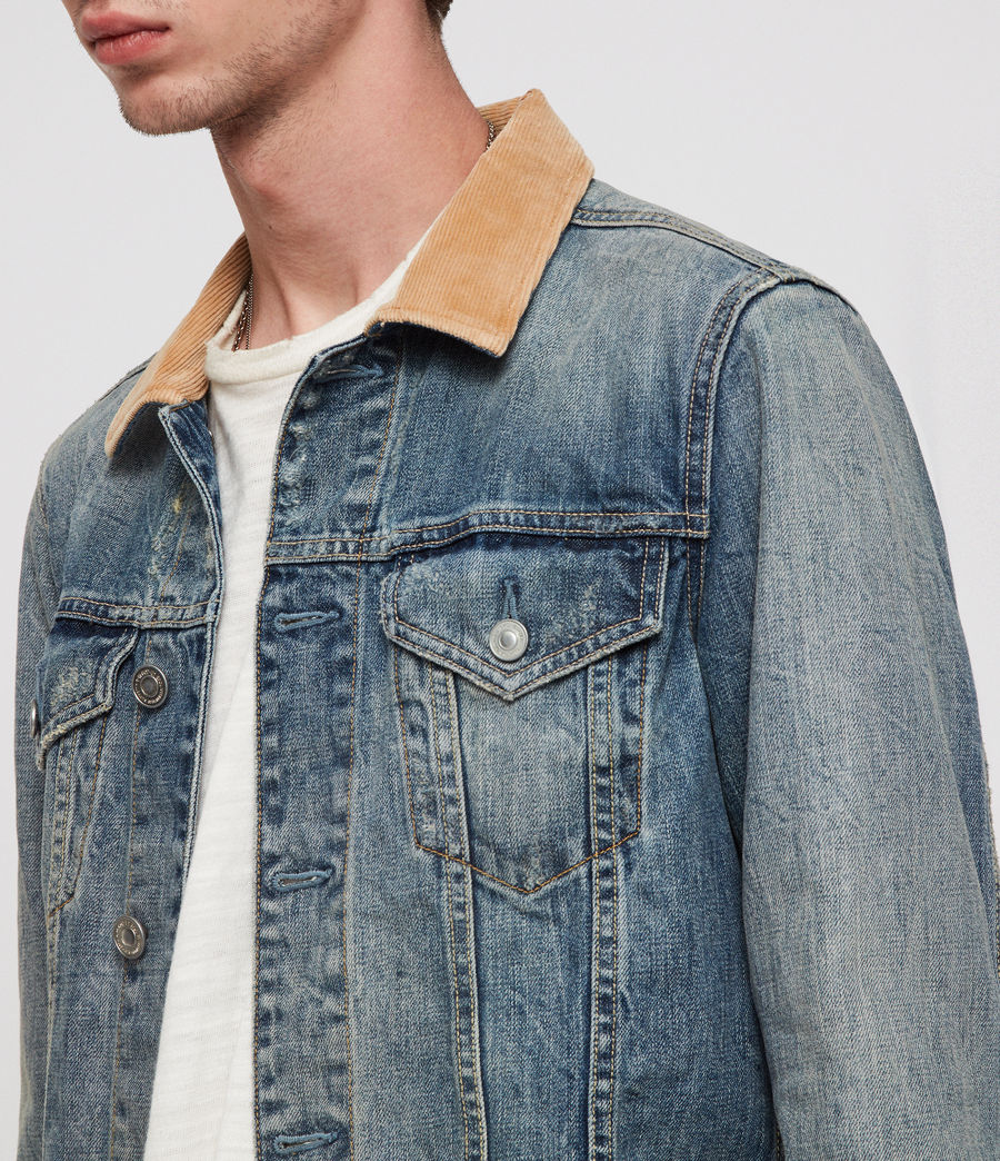 Men's Dexter Denim Jacket (indigo_blue) - Image 2