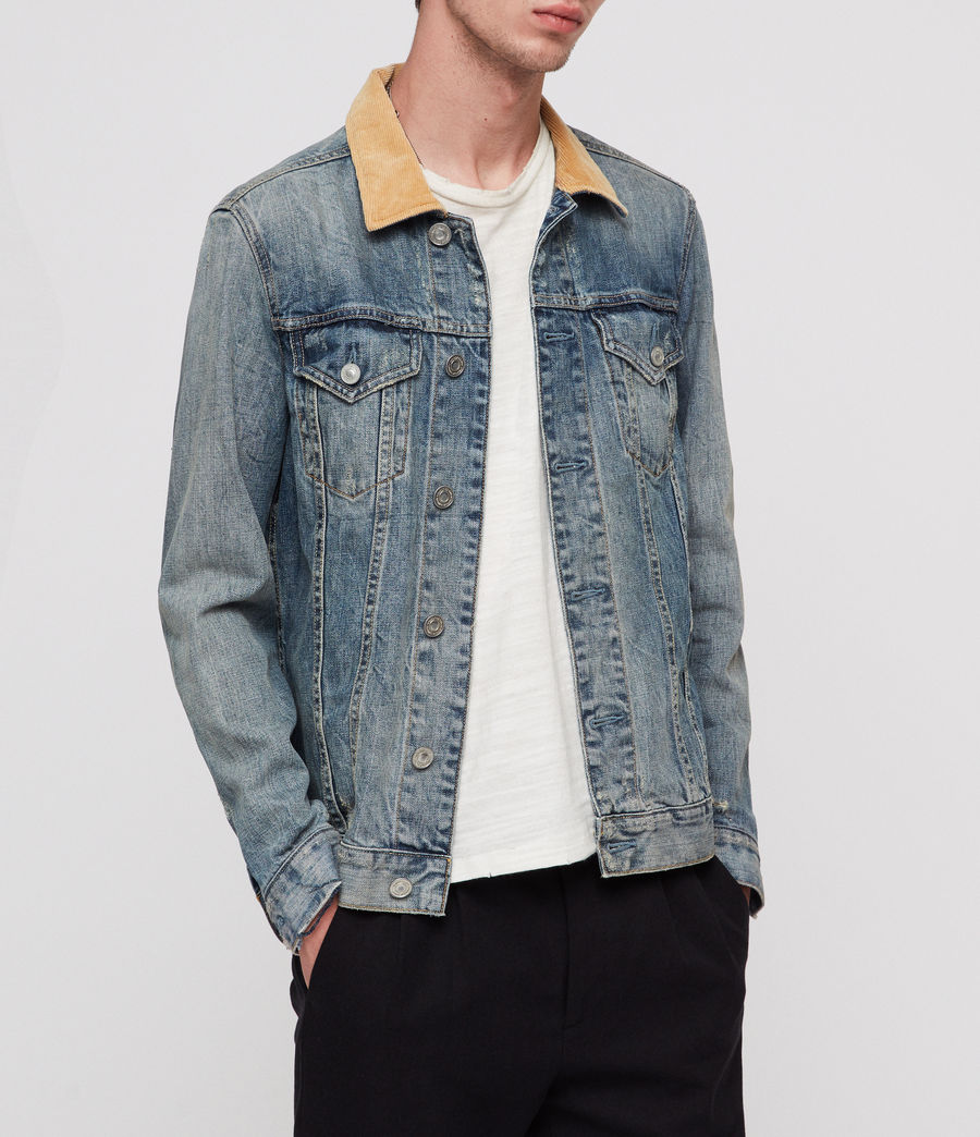 Men's Dexter Denim Jacket (indigo_blue) - Image 3