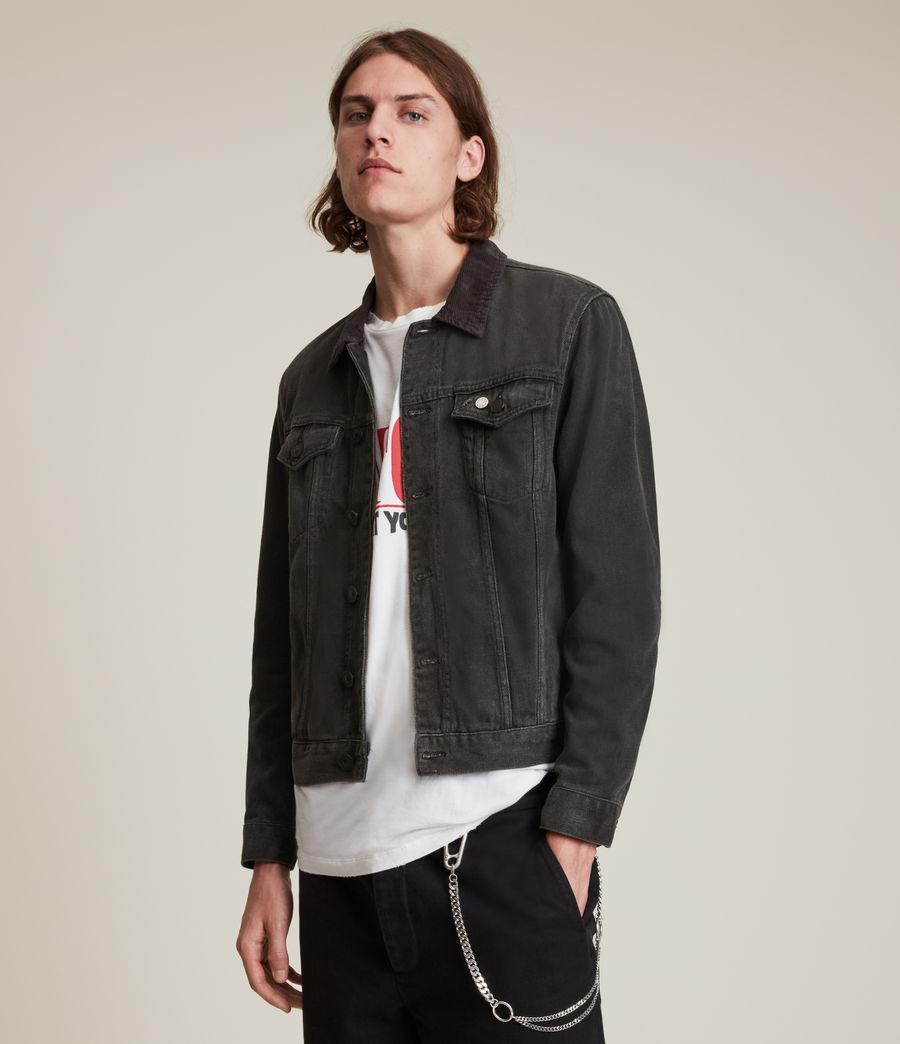 Men's Ormside Denim Jacket (washed_black) - Image 3
