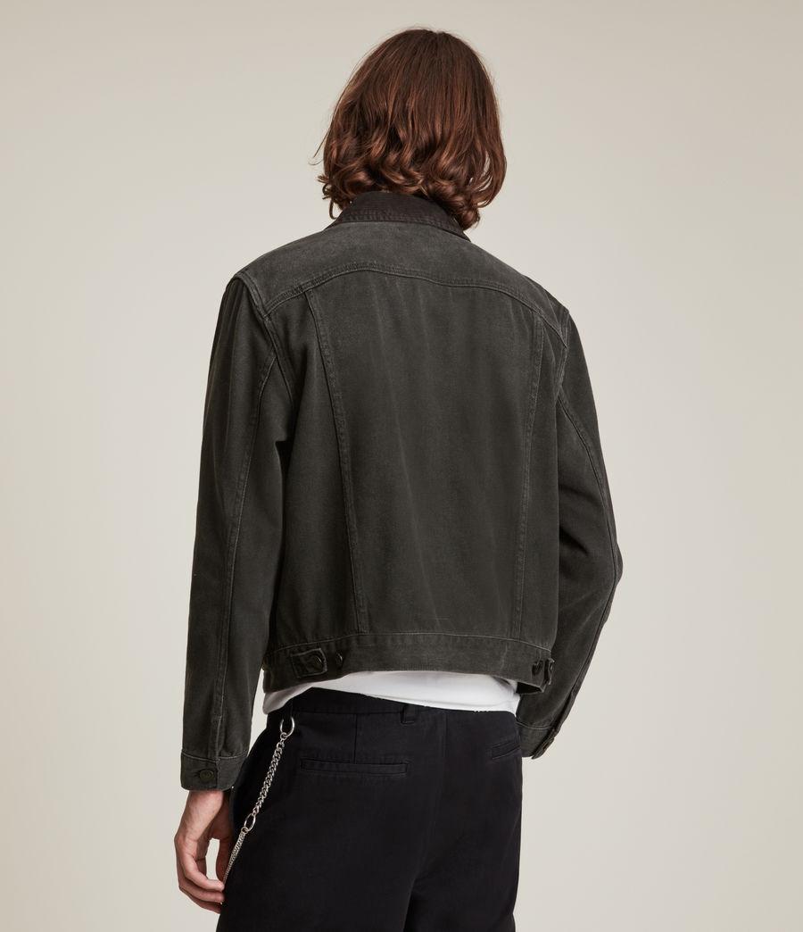 Men's Ormside Denim Jacket (washed_black) - Image 6