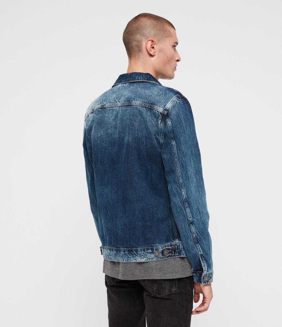 Men's Decker Denim Jacket (indigo) - Image 6