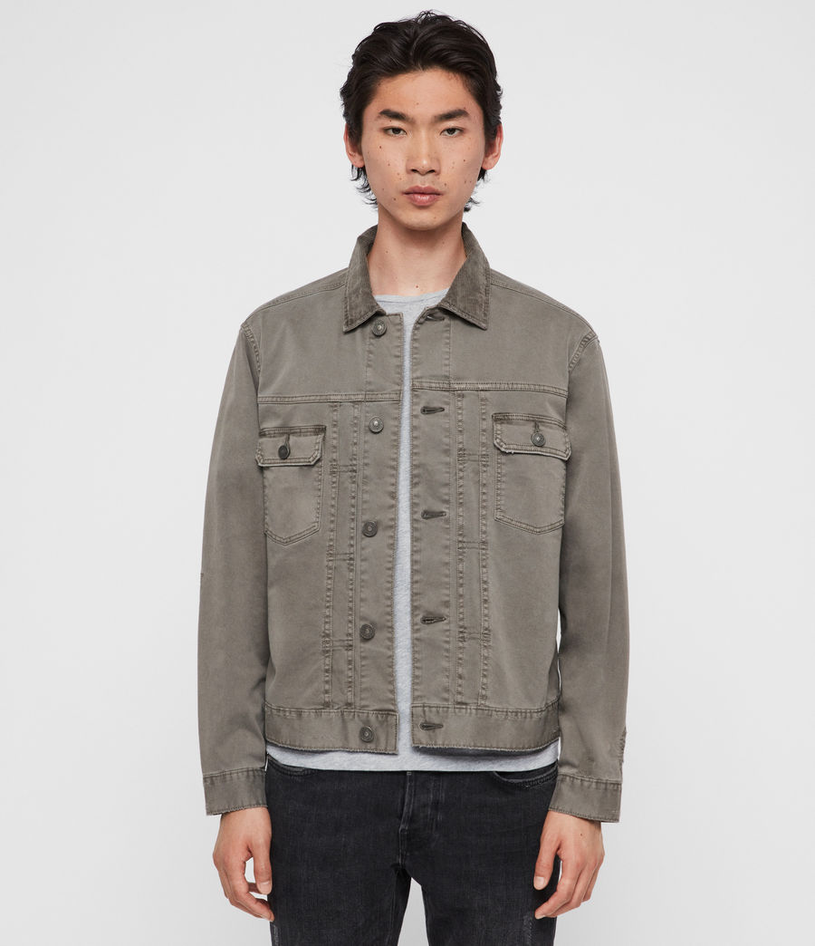 Men's Twidro Denim Jacket (flint_grey) - Image 1