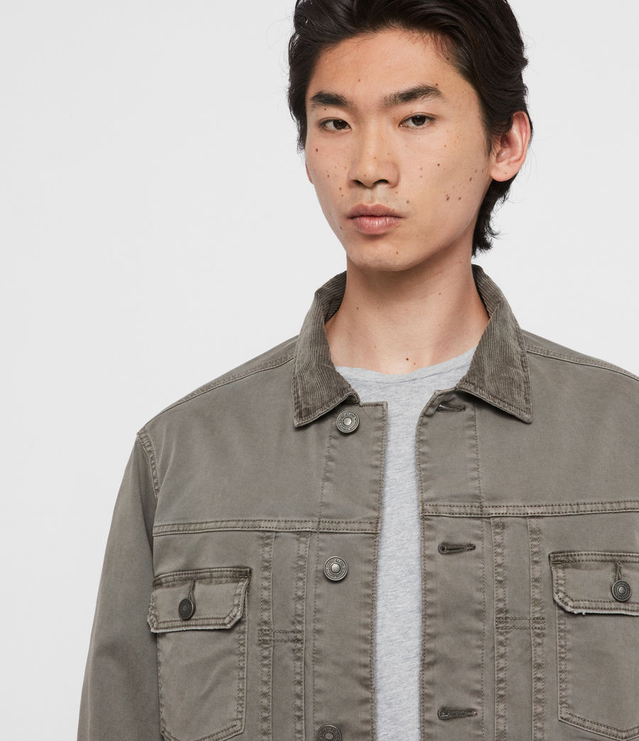 Men's Twidro Denim Jacket (flint_grey) - Image 2