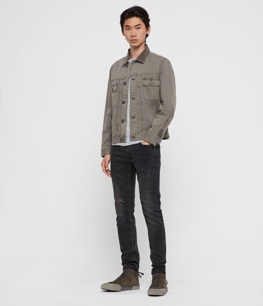 Men's Twidro Denim Jacket (flint_grey) - Image 3