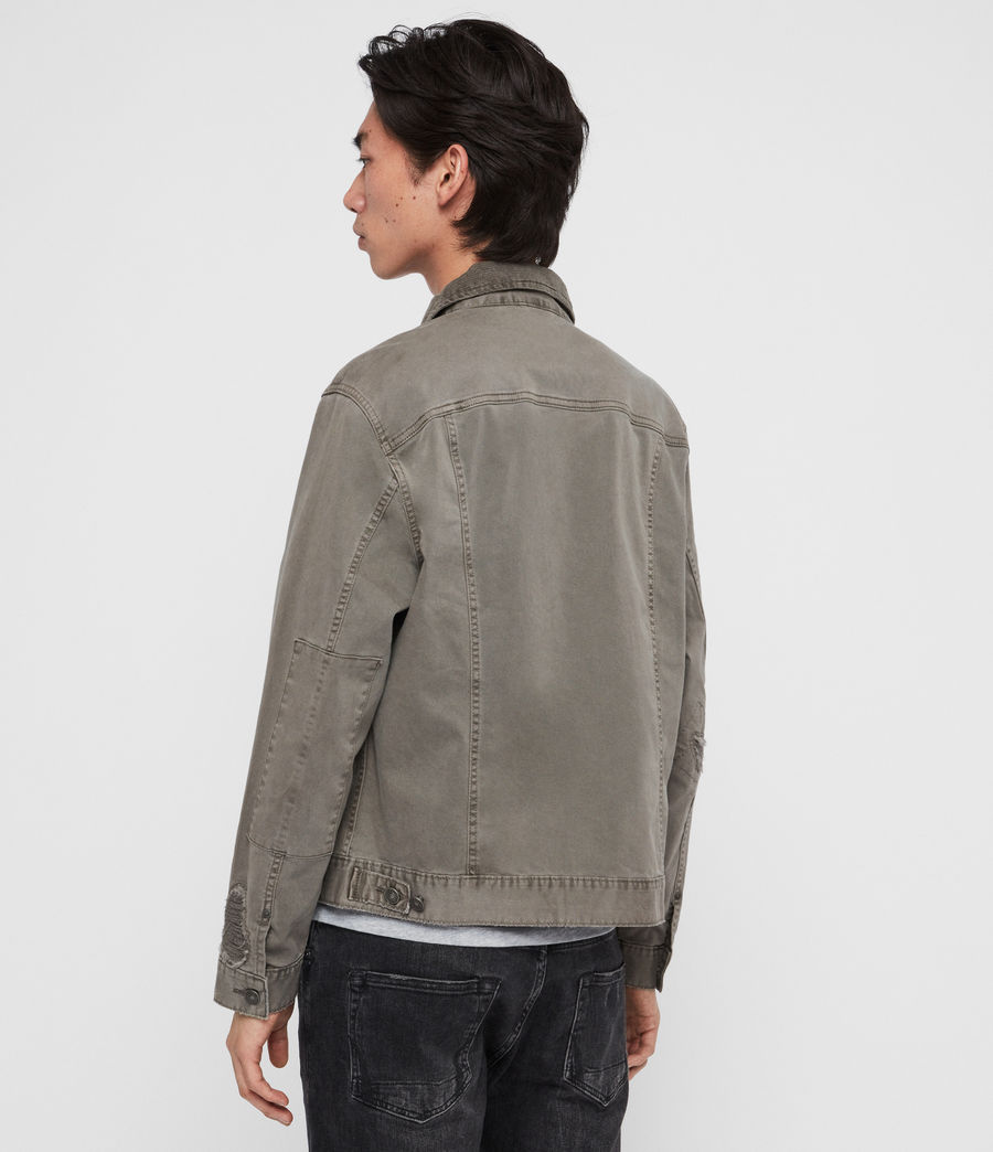 Men's Twidro Denim Jacket (flint_grey) - Image 4