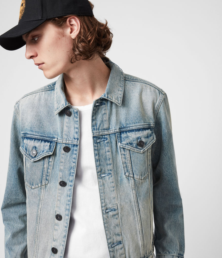 Men's Destin Denim Jacket (mid_indigo) - Image 1