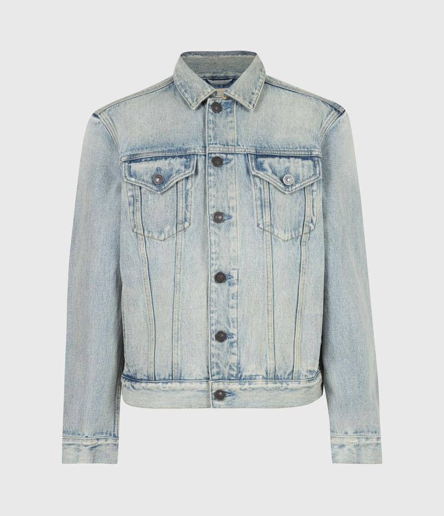 Men's Destin Denim Jacket (mid_indigo) - Image 2
