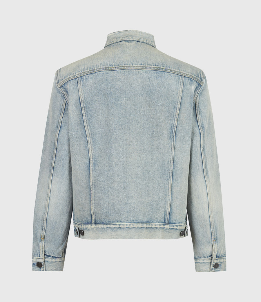 Men's Destin Denim Jacket (mid_indigo) - Image 3