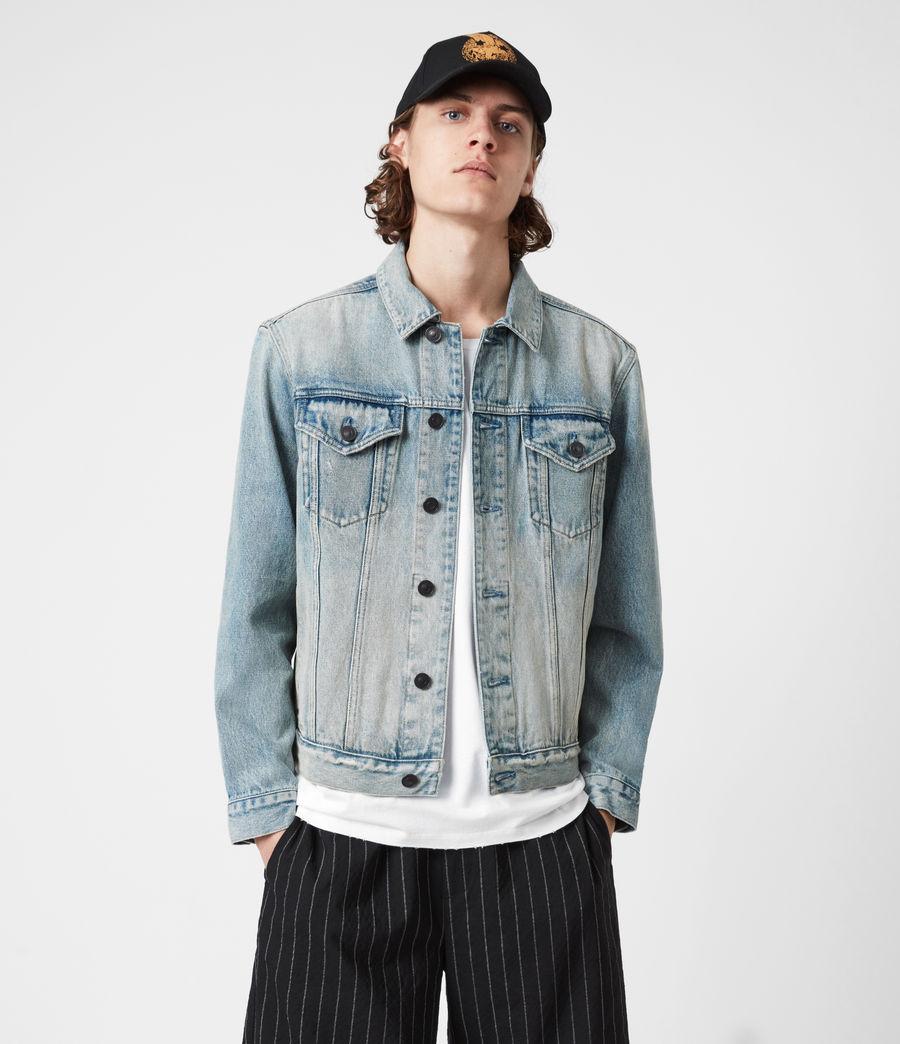 Men's Destin Denim Jacket (mid_indigo) - Image 4