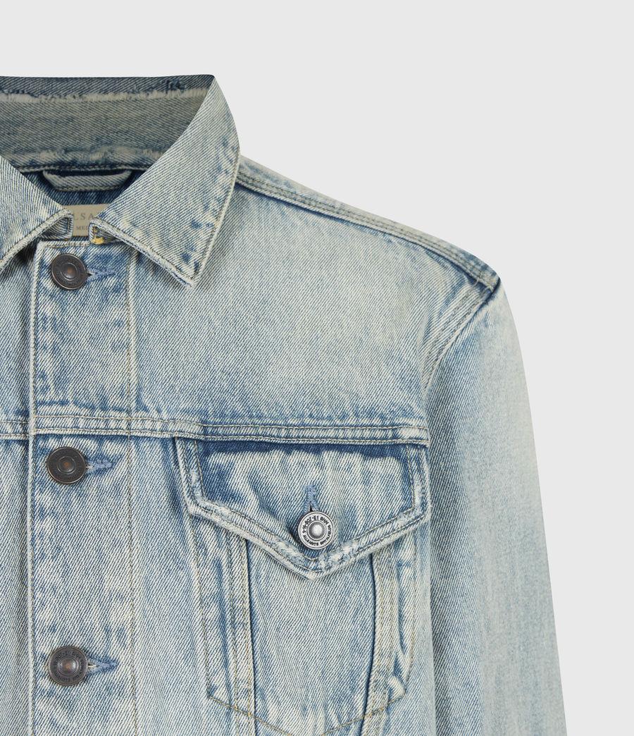 Men's Destin Denim Jacket (mid_indigo) - Image 5