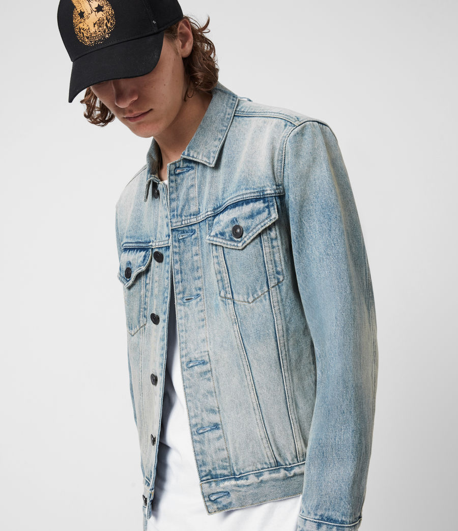 Men's Destin Denim Jacket (mid_indigo) - Image 7