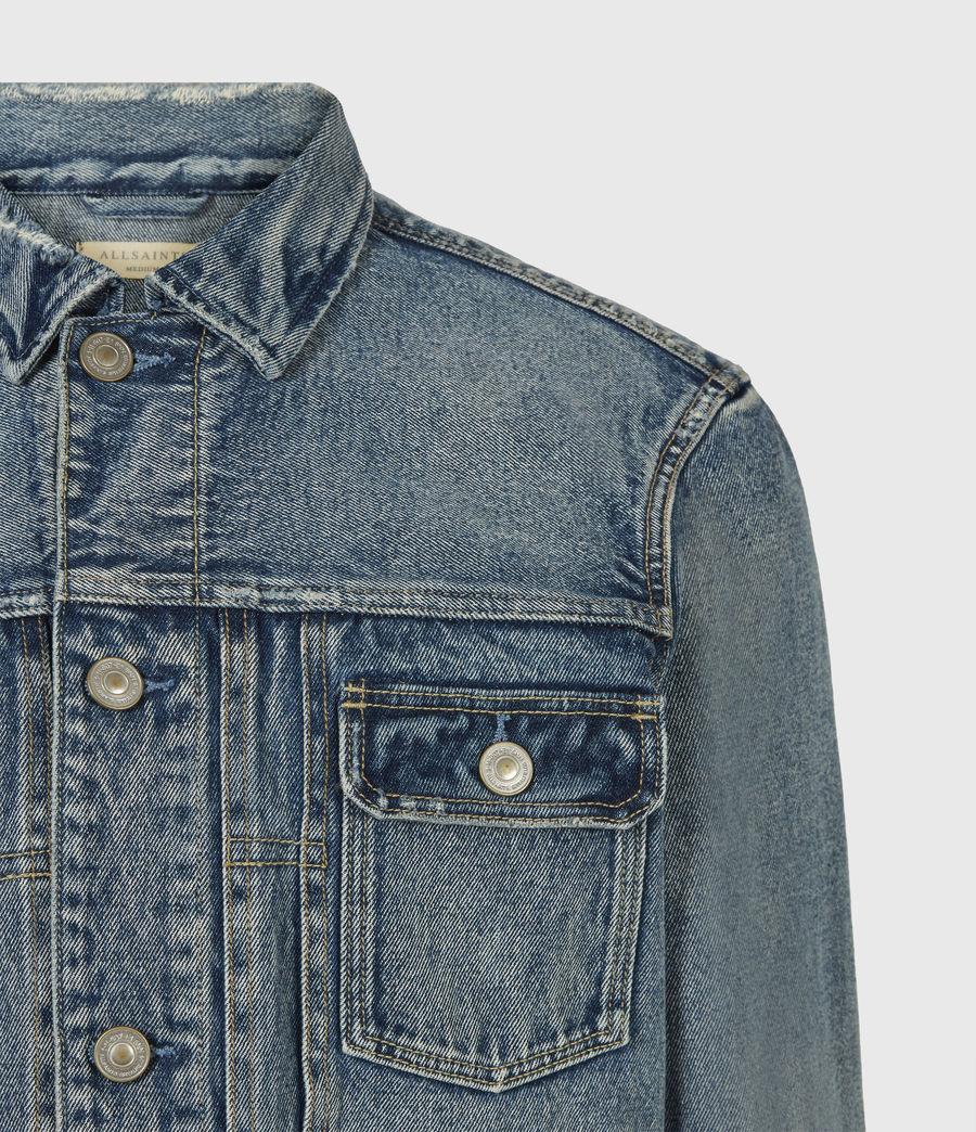 Men's Delta Denim Jacket (green_cast_indigo) - Image 5