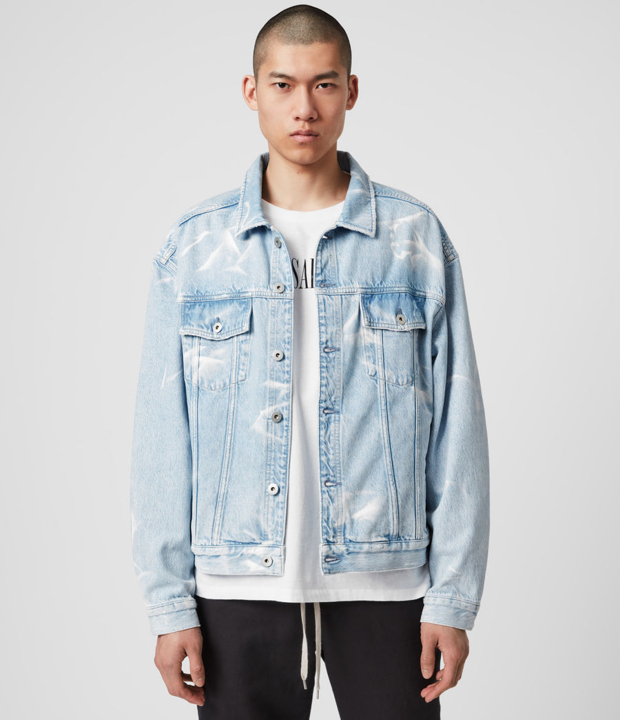 Hombre Denby Denim Jacket (light_indigo) - Image 1