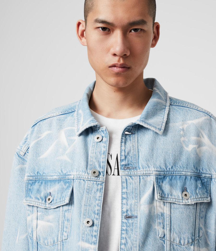 Mens Denby Denim Jacket (light_indigo) - Image 2