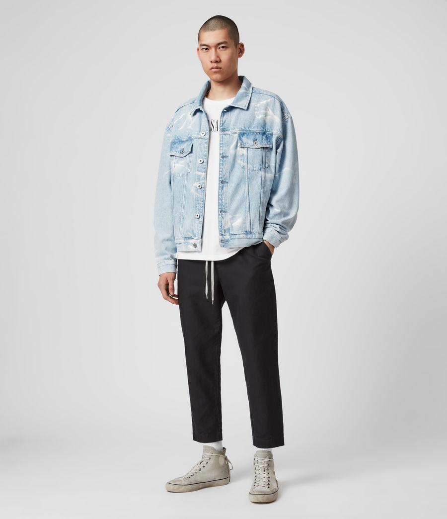 Mens Denby Denim Jacket (light_indigo) - Image 3