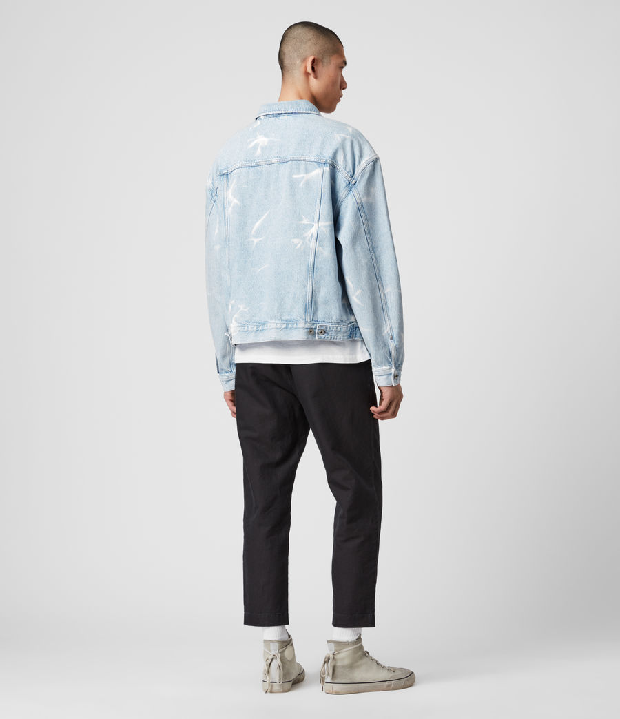 Mens Denby Denim Jacket (light_indigo) - Image 3