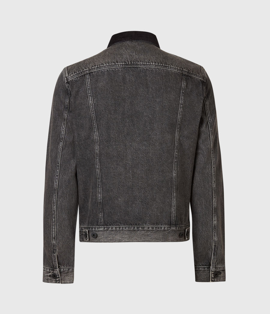 Mens Pembridge Denim Jacket (washed_black) - Image 7