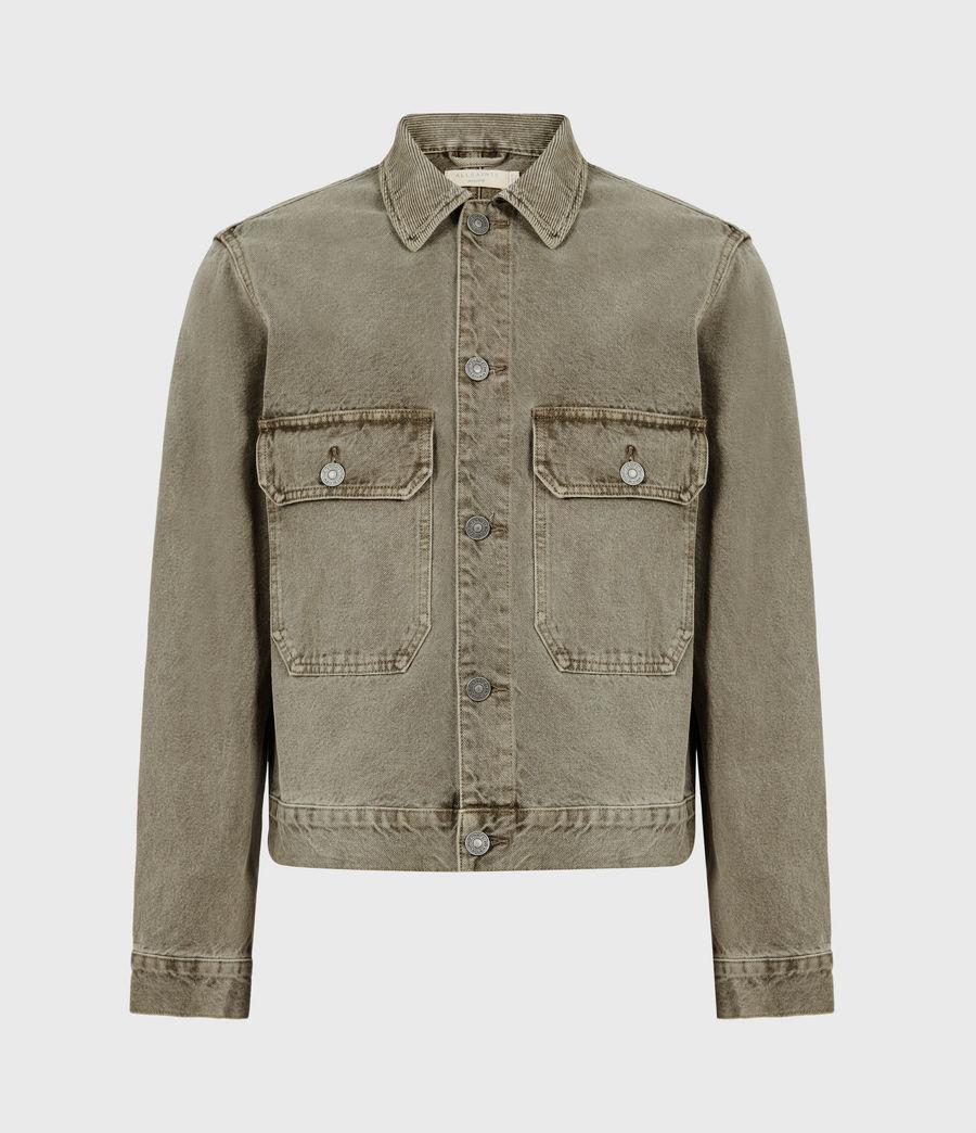 Men's Terrell Cotton Jacket (beech_green) - Image 2