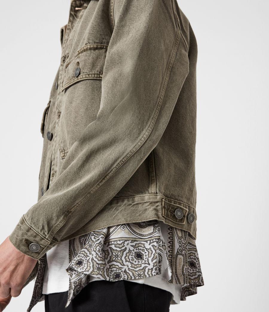 Men's Terrell Cotton Jacket (beech_green) - Image 4