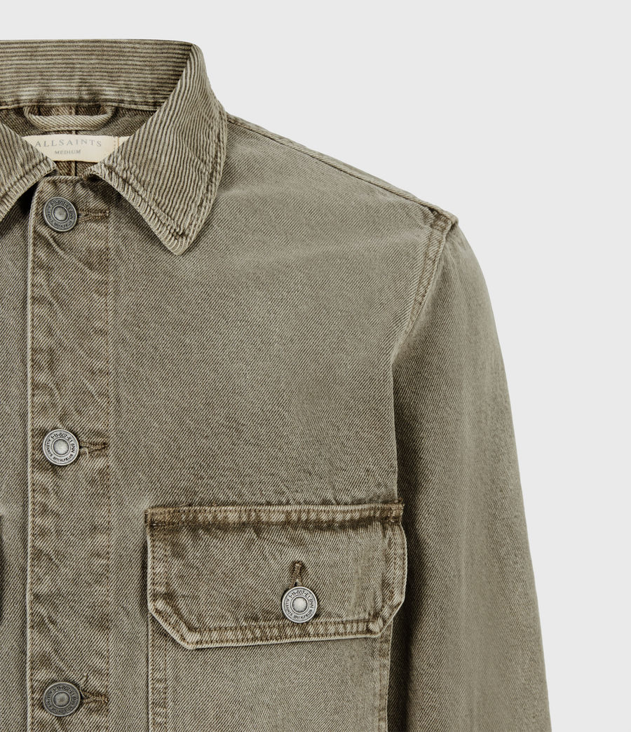 Men's Terrell Cotton Jacket (beech_green) - Image 5