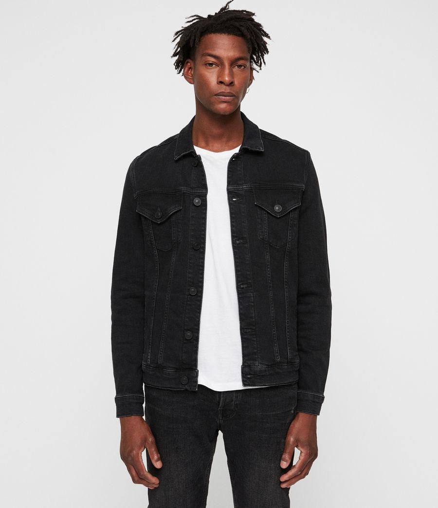 Uomo Giacca in jeans Buzzard (black) - Image 1