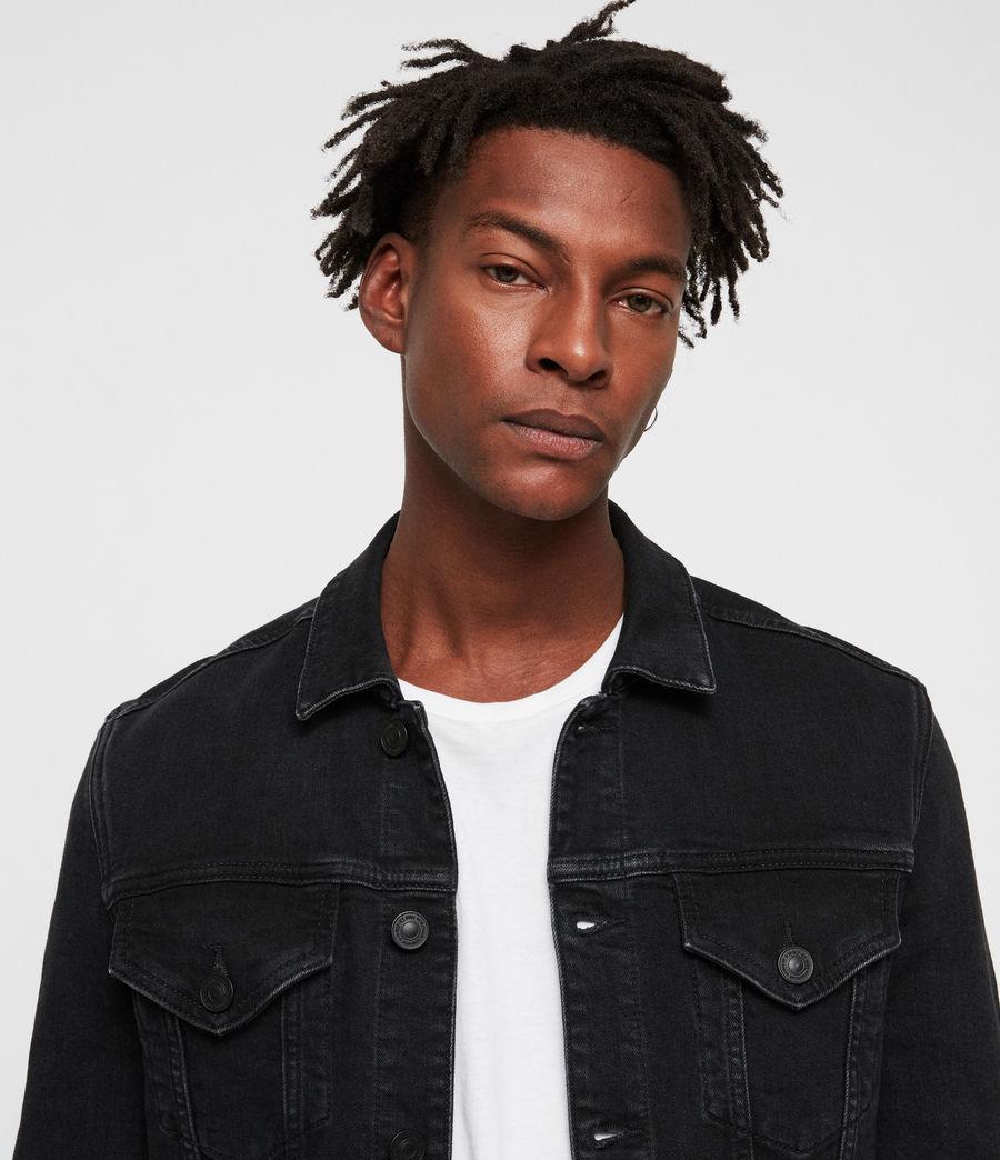 Uomo Giacca in jeans Buzzard (black) - Image 2