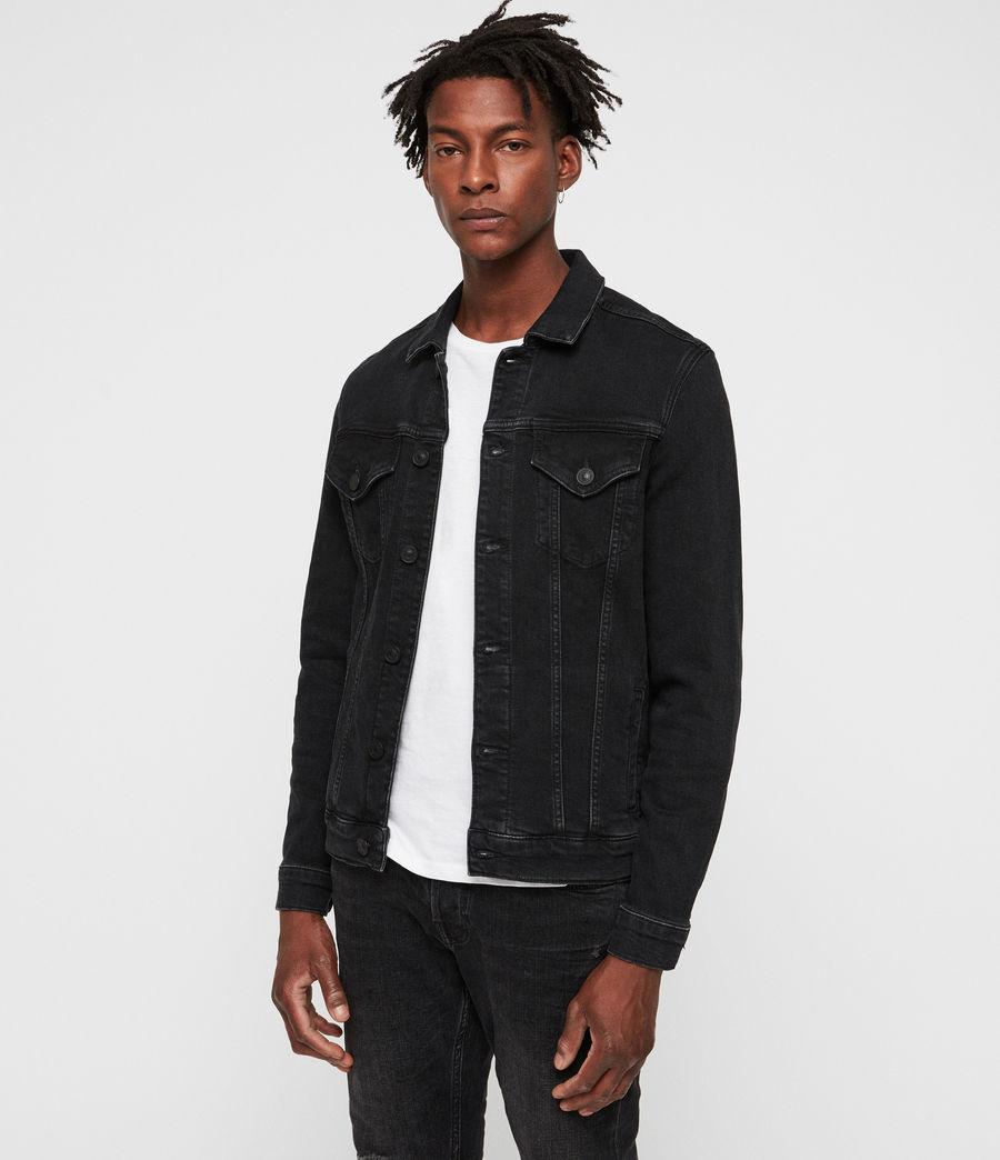 Uomo Giacca in jeans Buzzard (black) - Image 4