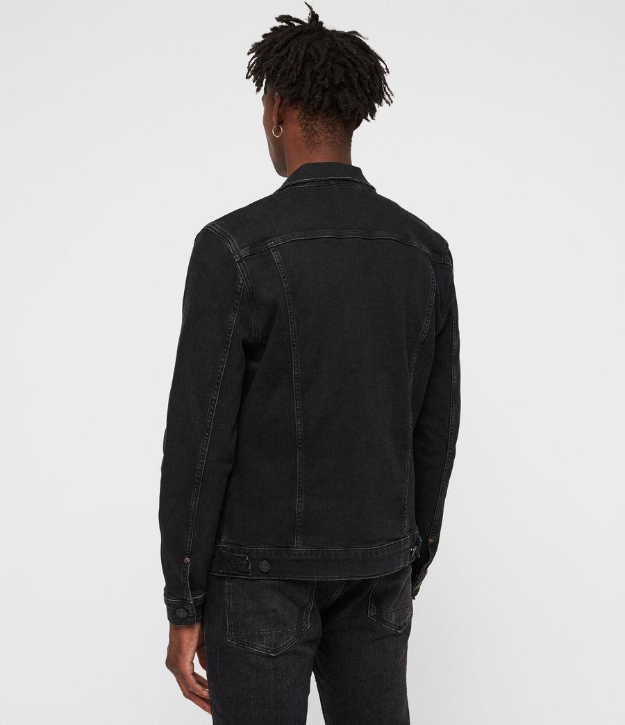 Uomo Giacca in jeans Buzzard (black) - Image 5