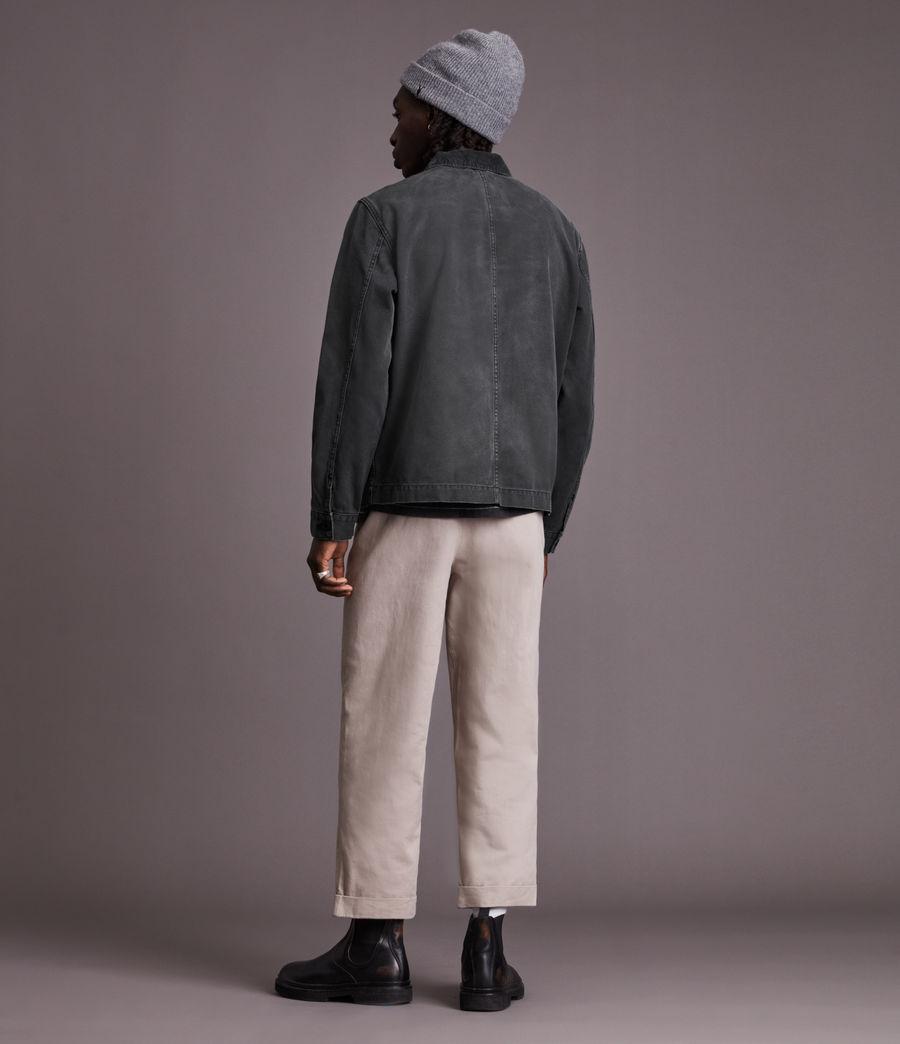 Men's Callum Denim Jacket (washed_black) - Image 4
