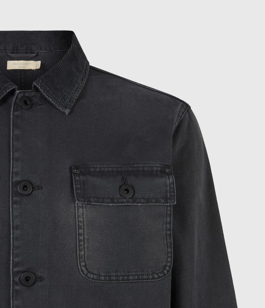 Men's Callum Denim Jacket (washed_black) - Image 5