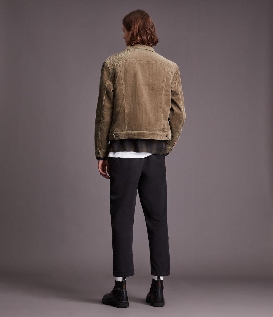 Mens Bretton Organic Cotton Jacket (mocha_brown) - Image 7