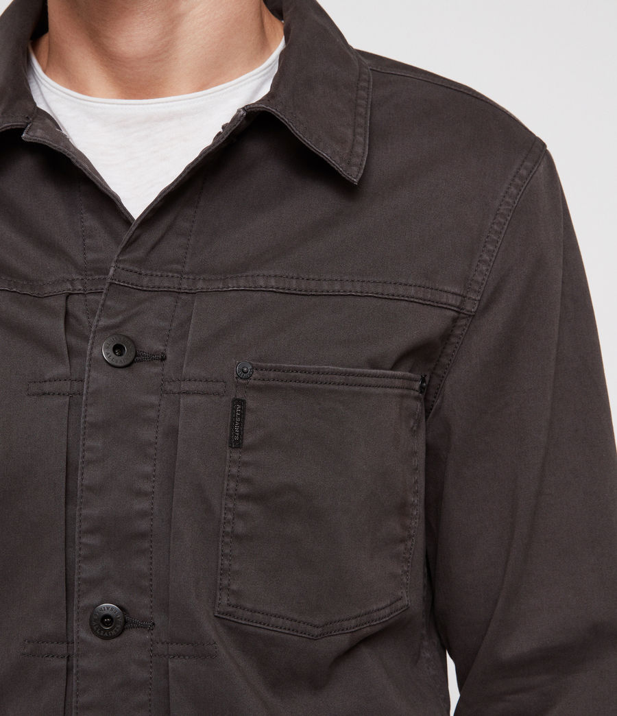 Mens Twitch Jacket (charcoal_grey) - Image 2