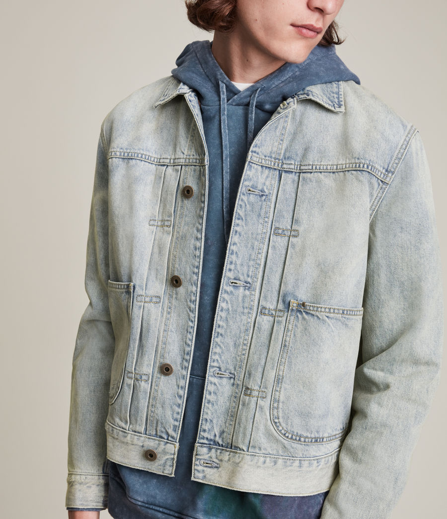 Herren Malham Denim Jacket (tinted_indigo) - Image 2