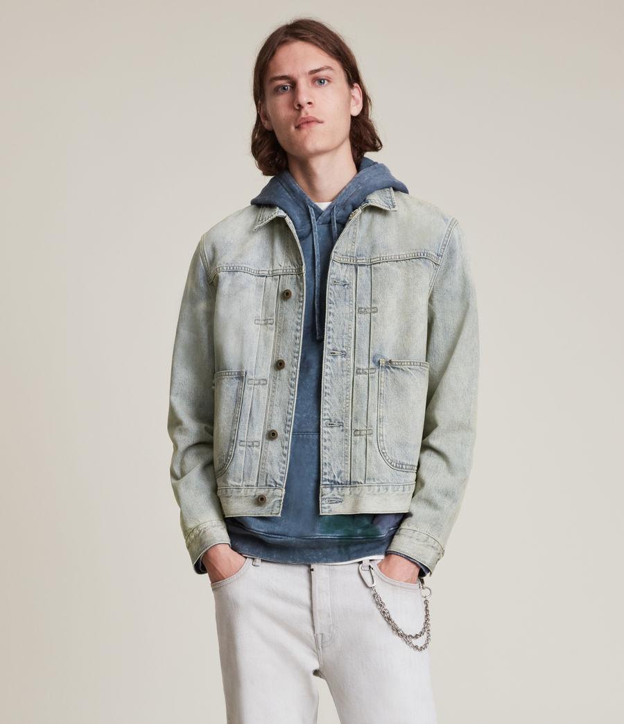 Herren Malham Denim Jacket (tinted_indigo) - Image 3