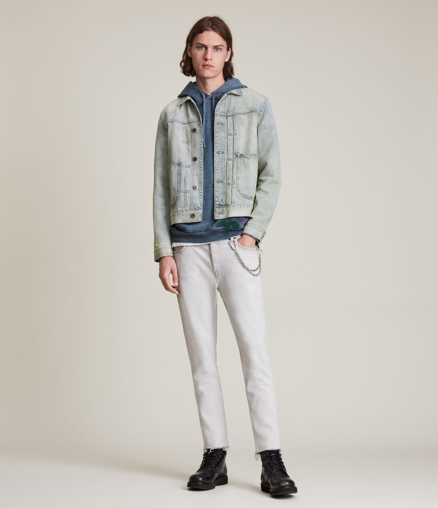 Herren Malham Denim Jacket (tinted_indigo) - Image 4